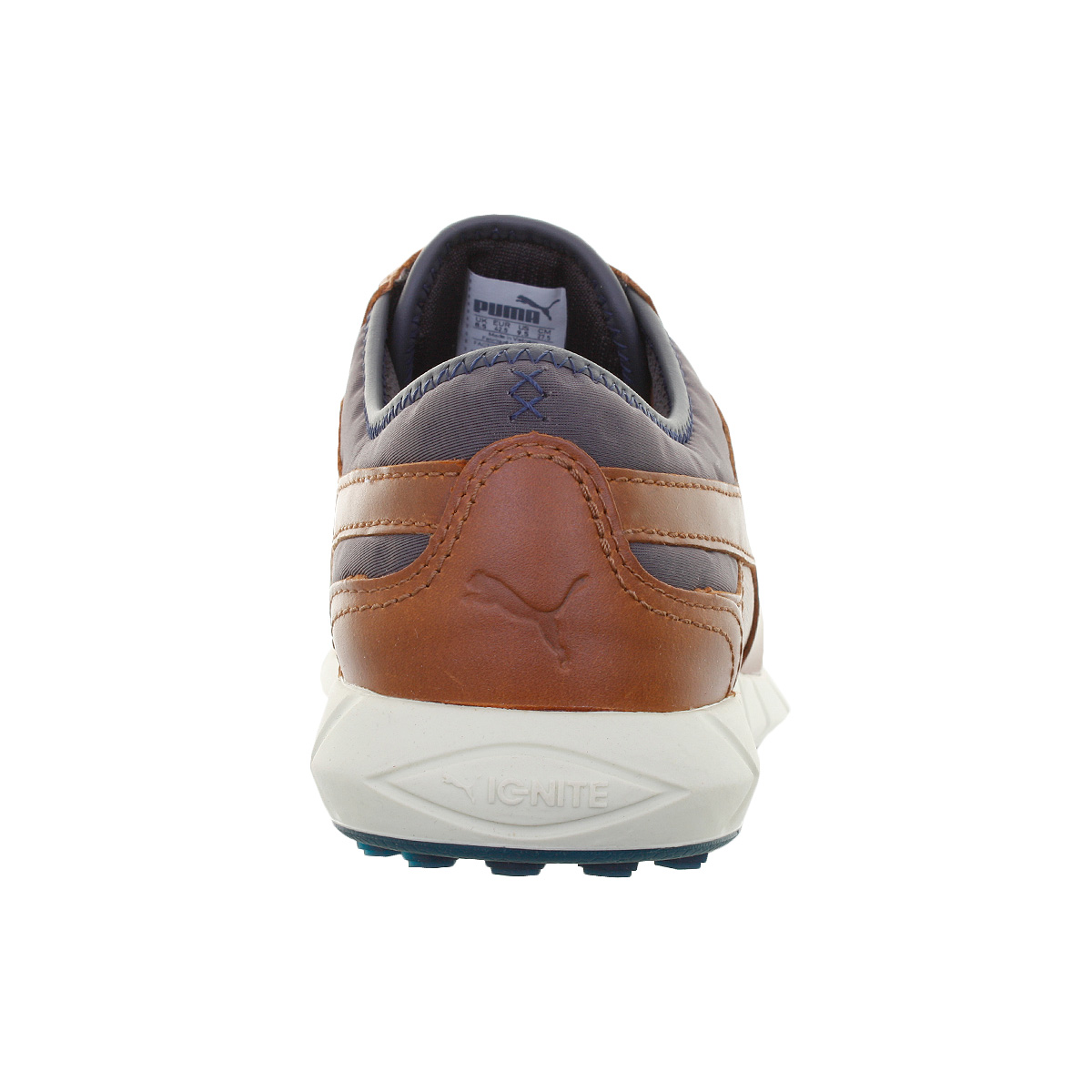 Puma Golf Mens IGNITE Spikeless Leather Waterproof Golf Shoes 40 ... cb6b7447189d