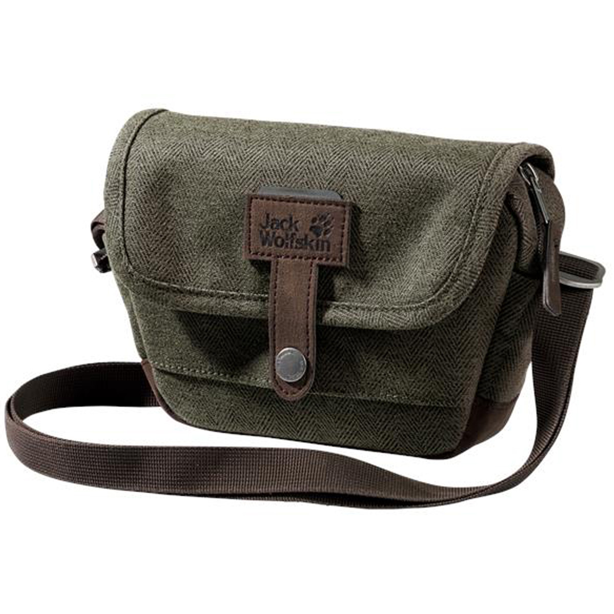 dd3ff86057 Details about Jack Wolfskin Tweedster Vintage Shoulder Cycle Travel Bag
