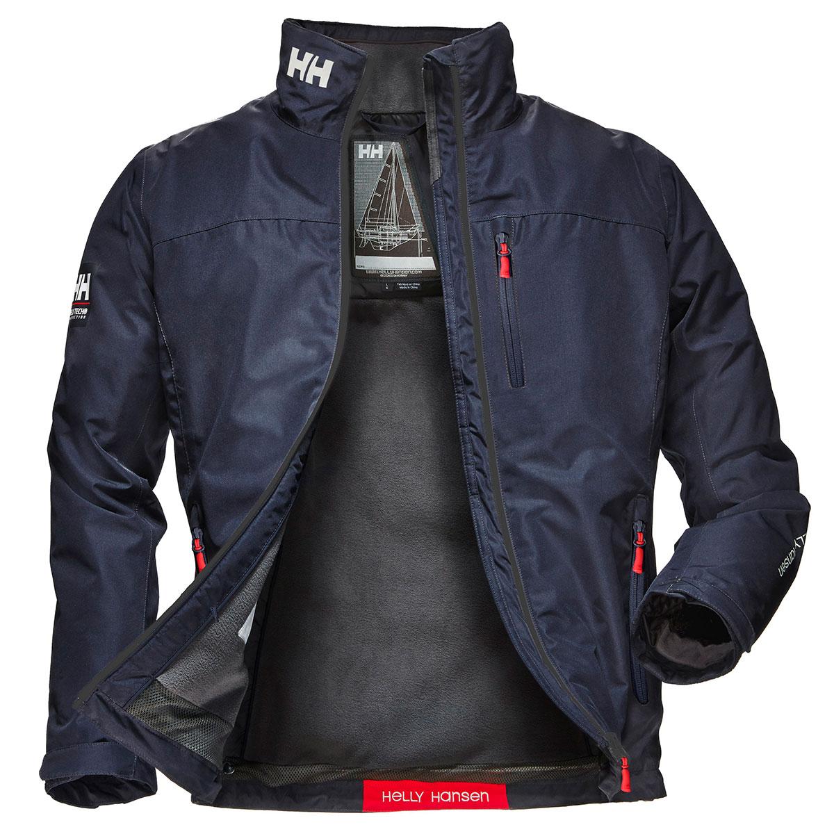 Helly-Hansen-Mens-2019-Crew-Midlayer-Waterproof-Windproof-Adjustable-Jacket thumbnail 12