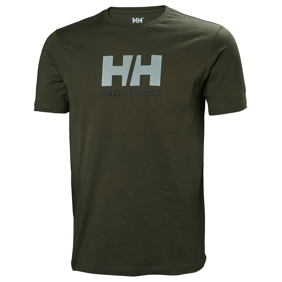 Helly-Hansen-Hommes-2018-Hh-Logo-Coton-Manches-Courtes-T-Shirt-Haut