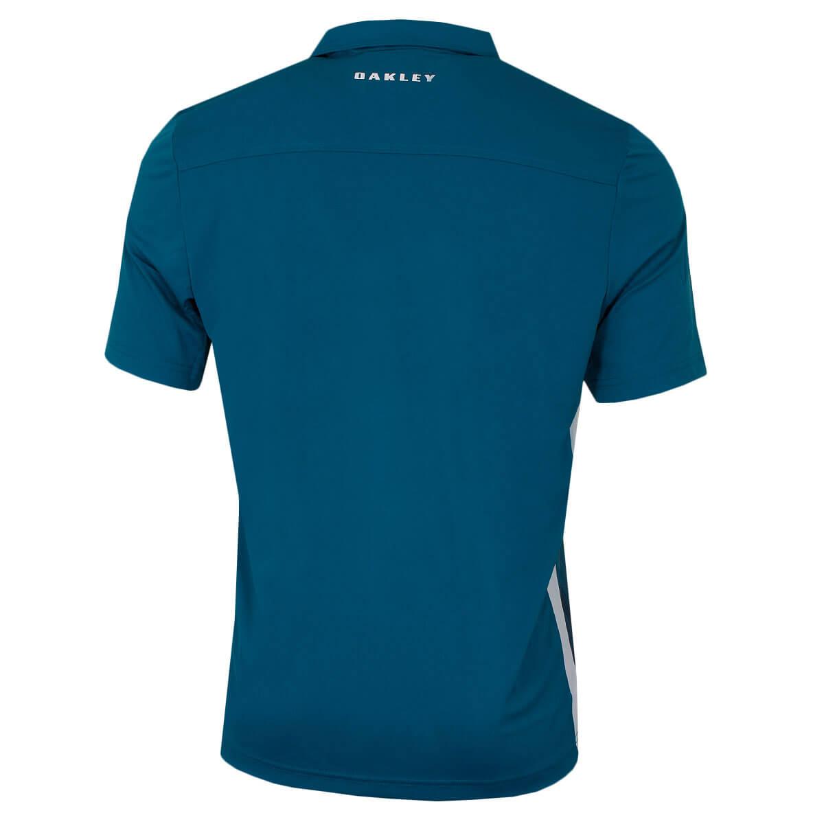 fbe813906da4e Oakley Mens 2019 Infinity Line Short Sleeve Durable Golf Polo Shirt ...