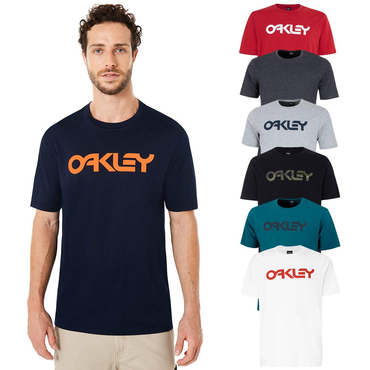 Details about Oakley Mens Mark II Crew Neck Regular Fit Lightweight T-Shirt  25% OFF RRP 8691e15605fd
