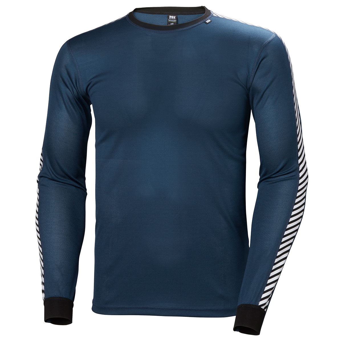 Helly-Hansen-Mens-2018-HH-Dry-Stripe-Crew-Base-Layer-Long-Sleeve-Lifa-Stay-Dry
