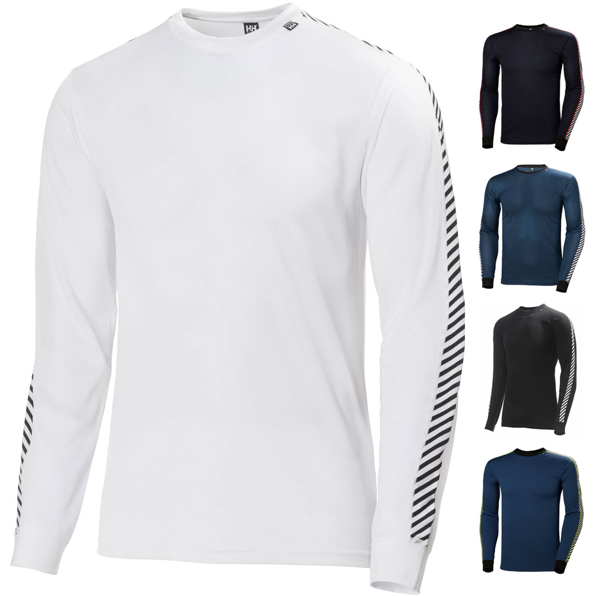 Grenadine All Sizes Helly Hansen Hh Lifa Crew Mens Base Layer Top