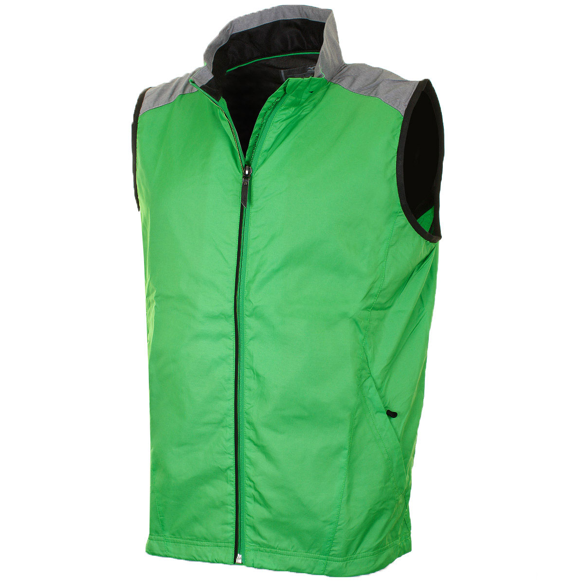 Mizuno Golf 2016 Mens Windproof Vest Full Zip Sleeveless