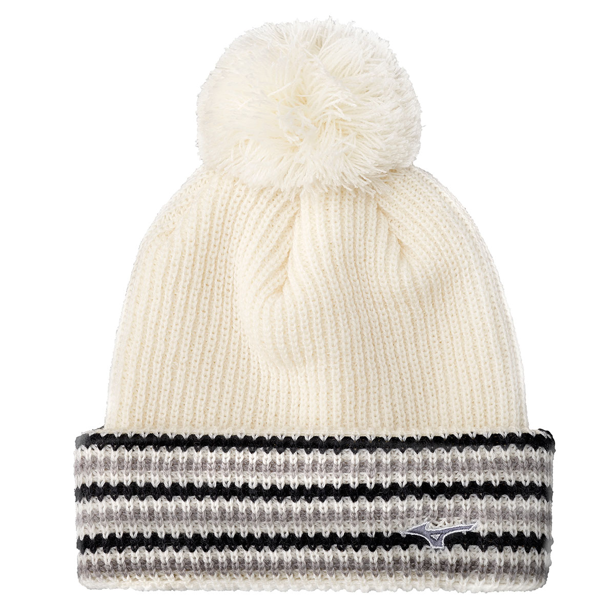 3d9f254fe2b Details about Mizuno Mens Breath Thermo Bobble Hat - White - One Size