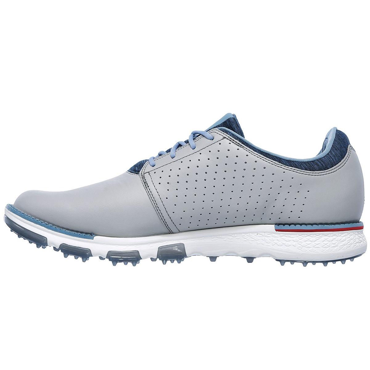 Skechers-Golf-Mens-2019-Go-Elite-V-3-Spikeless-Waterproof-Leather-Golf-Shoes thumbnail 3