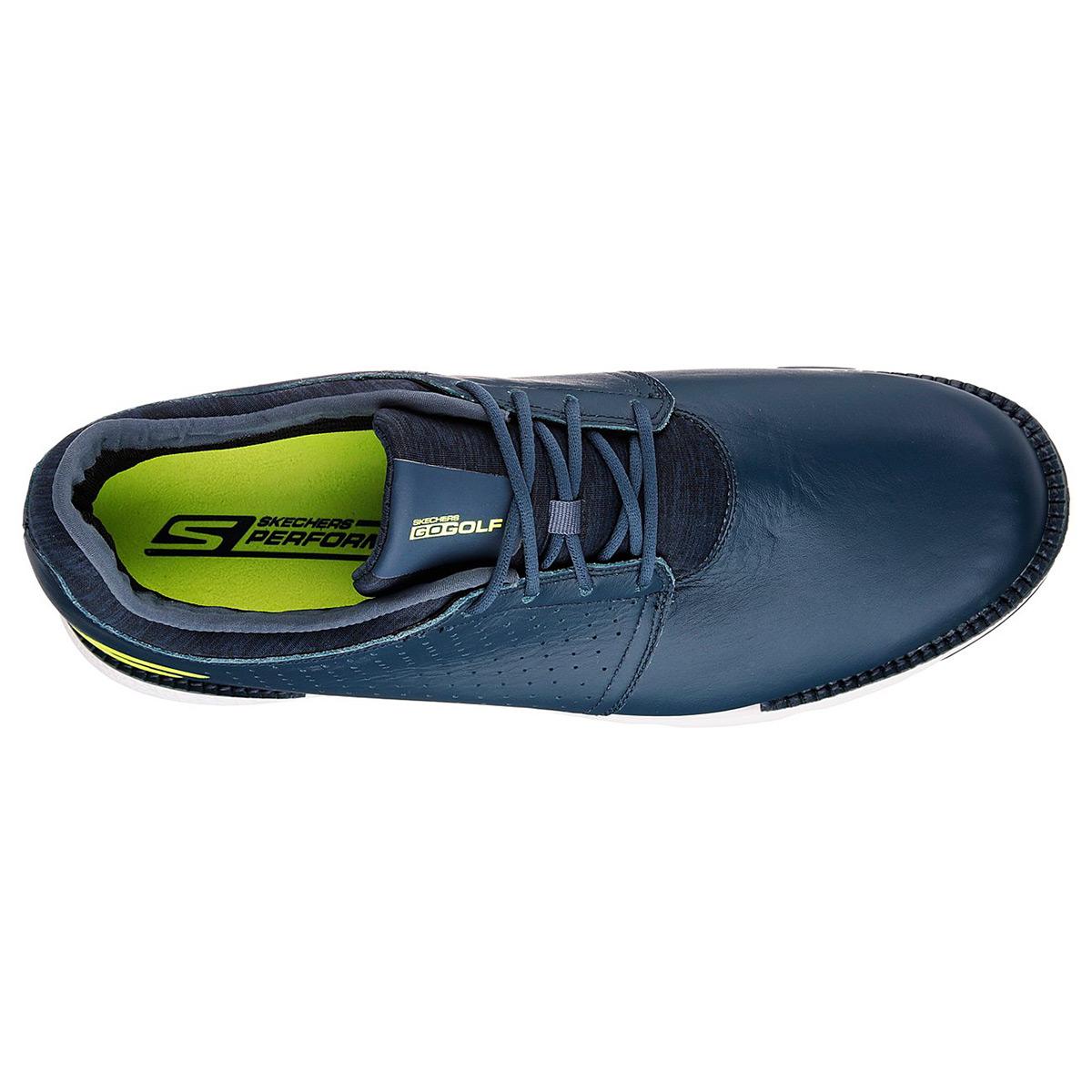 Skechers-Golf-Mens-2019-Go-Elite-V-3-Spikeless-Waterproof-Leather-Golf-Shoes thumbnail 10
