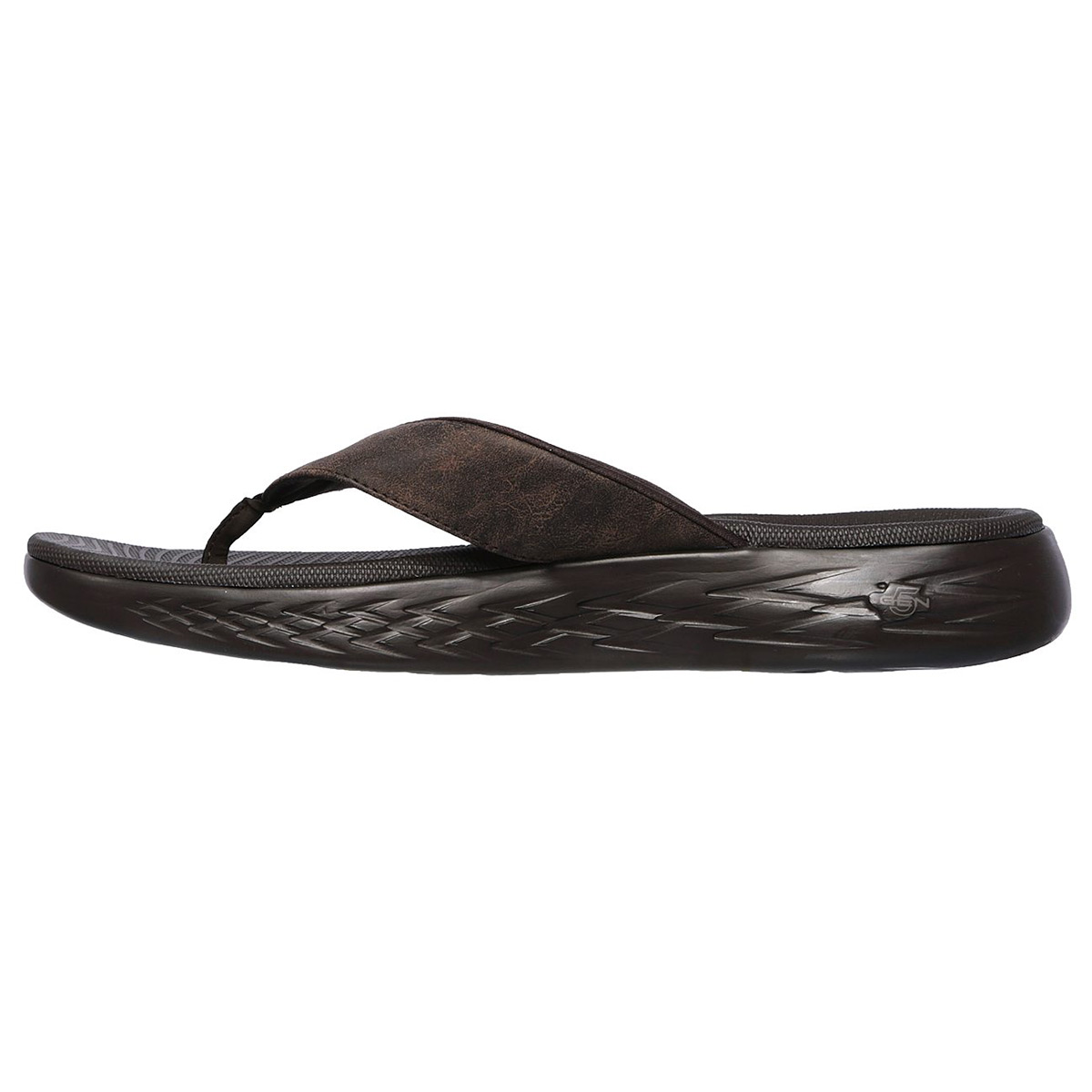 445c0ec6be3b Skechers 55352 On-the-go 600 Seaport - Choc (brown) Mens Sandals 44 EU.  About this product. Picture 1 of 4  Picture 2 of 4  Picture 3 of 4 ...