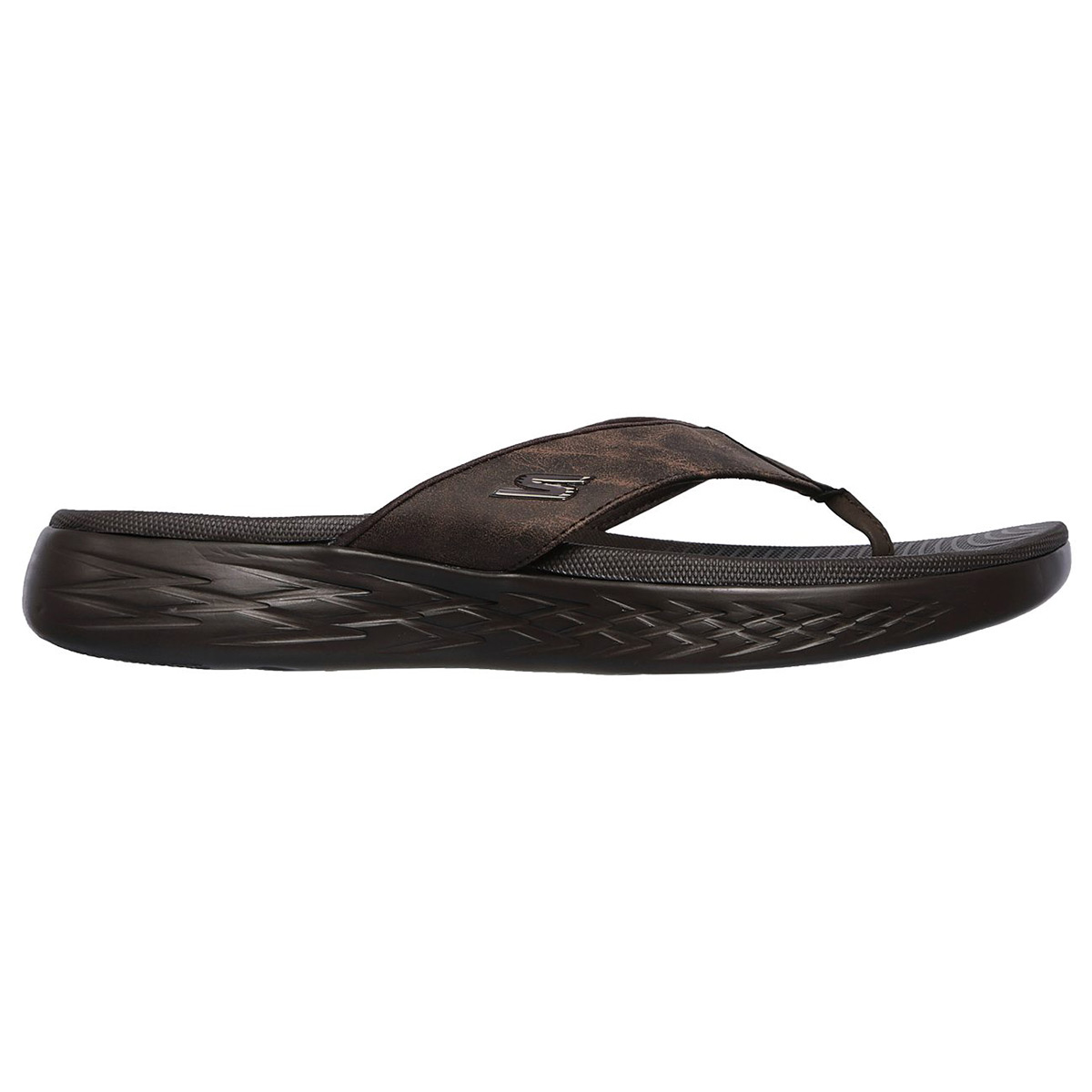 68f55db4e0d7 Skechers 55352 On-the-go 600 Seaport - Choc (brown) Mens Sandals 44 ...