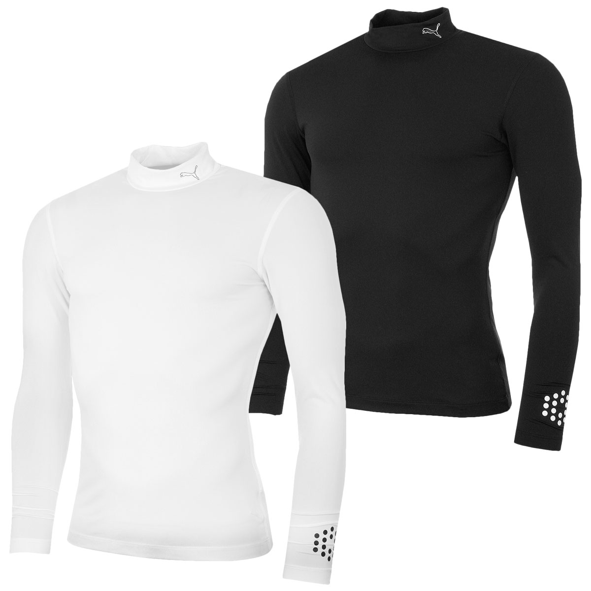 Puma Golf Men's DryCell Baselayer Mock Stretch Long Sleeve Top ...