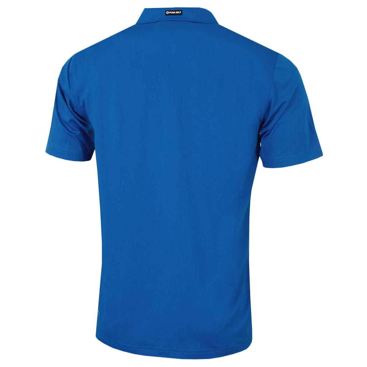 Puma-Golf-Mens-Essential-Pounce-Cresting-DryCell-Tech-Polo-Shirt-46-OFF-RRP thumbnail 15