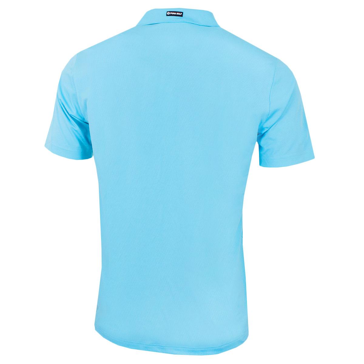 Puma-Golf-Mens-Essential-Pounce-Cresting-DryCell-Tech-Polo-Shirt-46-OFF-RRP thumbnail 22