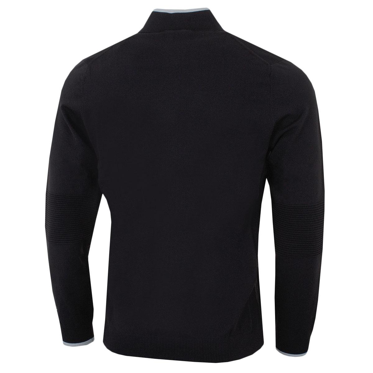Puma-Golf-Mens-Evoknit-1-4-Zip-Ribbing-Breathable-Sweater-49-OFF-RRP thumbnail 3