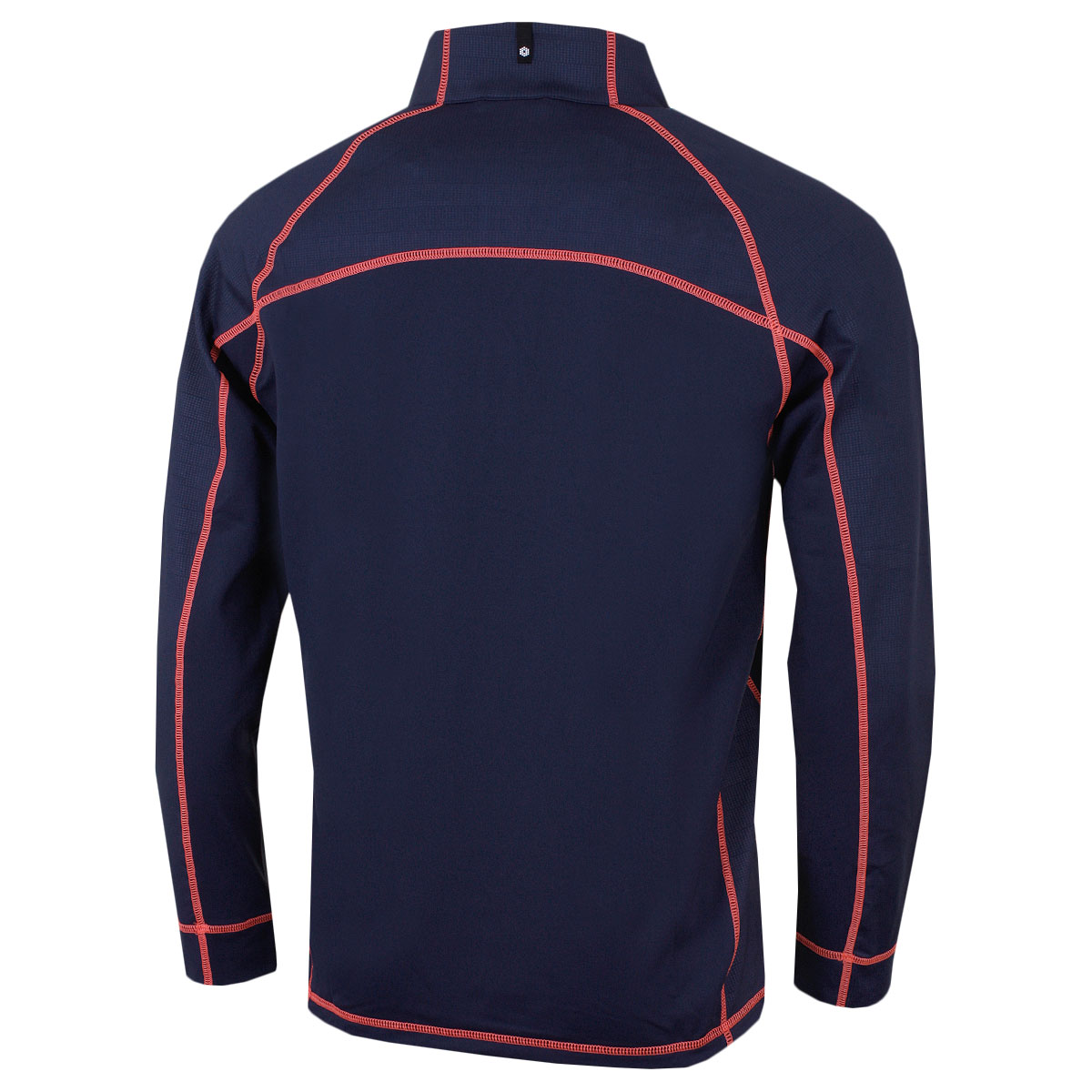Puma-Golf-Mens-Embossed-1-4-Zip-WarmCell-Popover-Pullover-45-OFF-RRP thumbnail 5