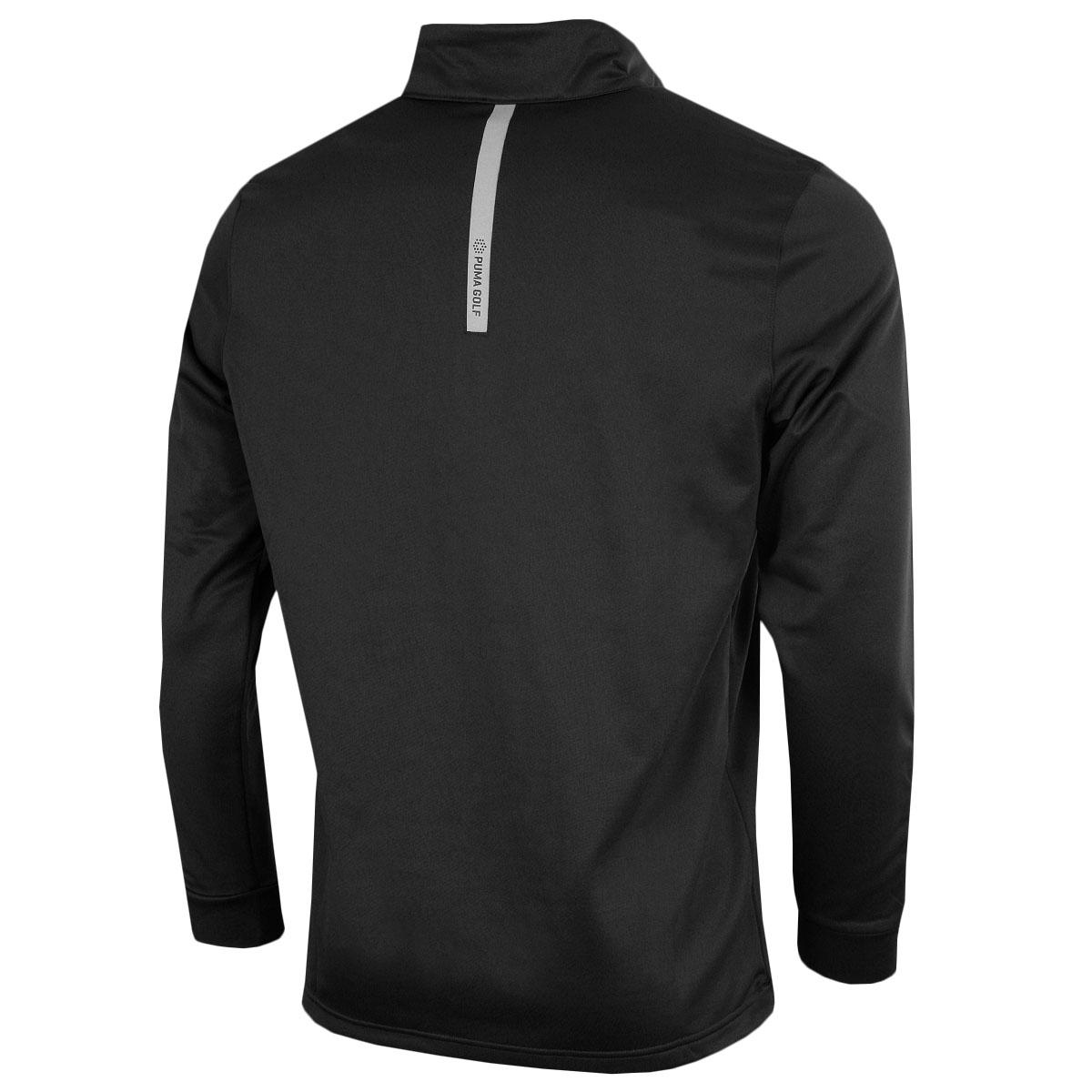 Puma-Golf-Mens-Midweight-1-4-Zip-Moisture-Wicking-WarmCELL-Fleece-46-OFF-RRP thumbnail 6