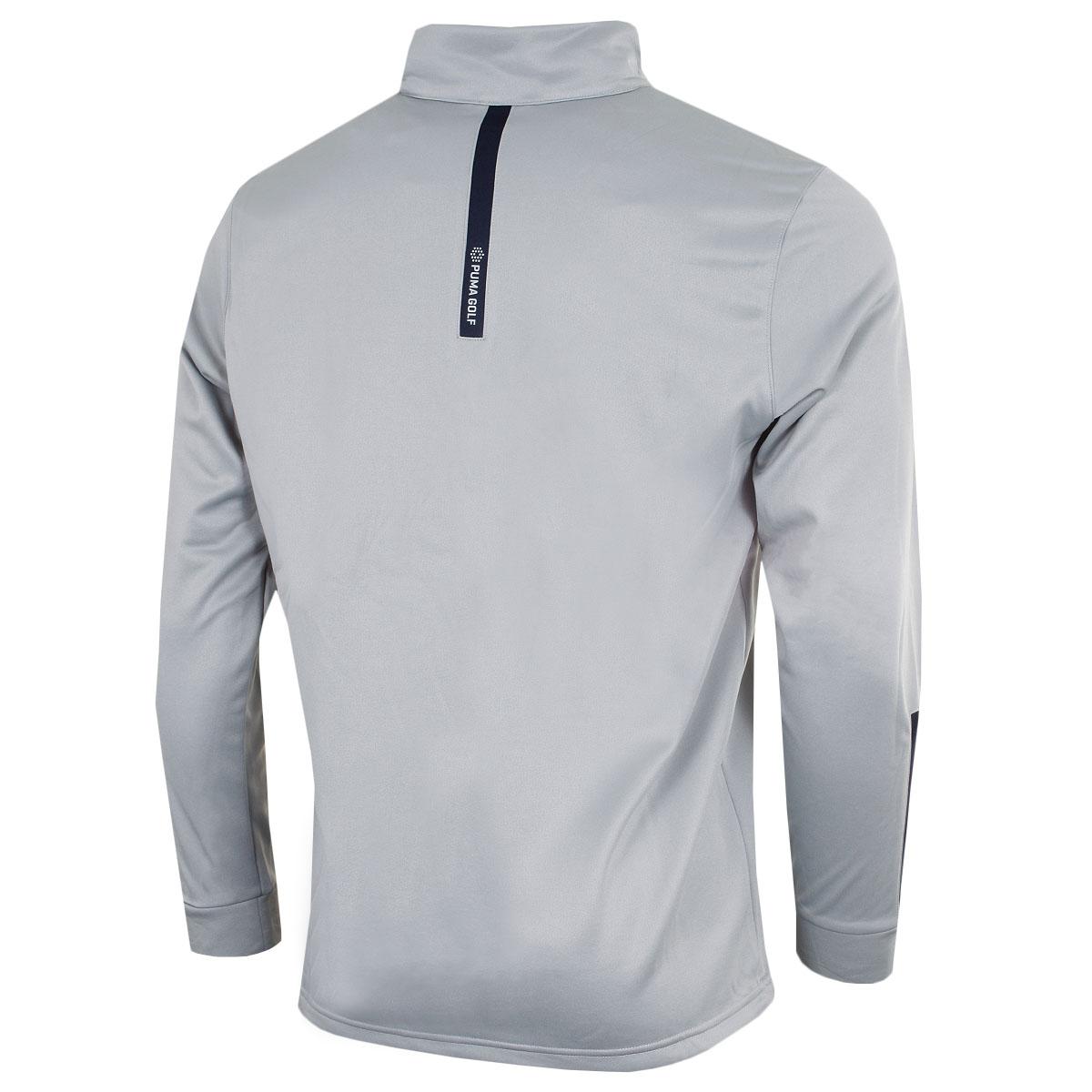 Puma-Golf-Mens-Midweight-1-4-Zip-Moisture-Wicking-WarmCELL-Fleece-46-OFF-RRP thumbnail 9