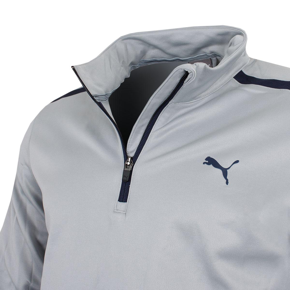 Puma-Golf-Mens-Midweight-1-4-Zip-Moisture-Wicking-WarmCELL-Fleece-46-OFF-RRP thumbnail 10