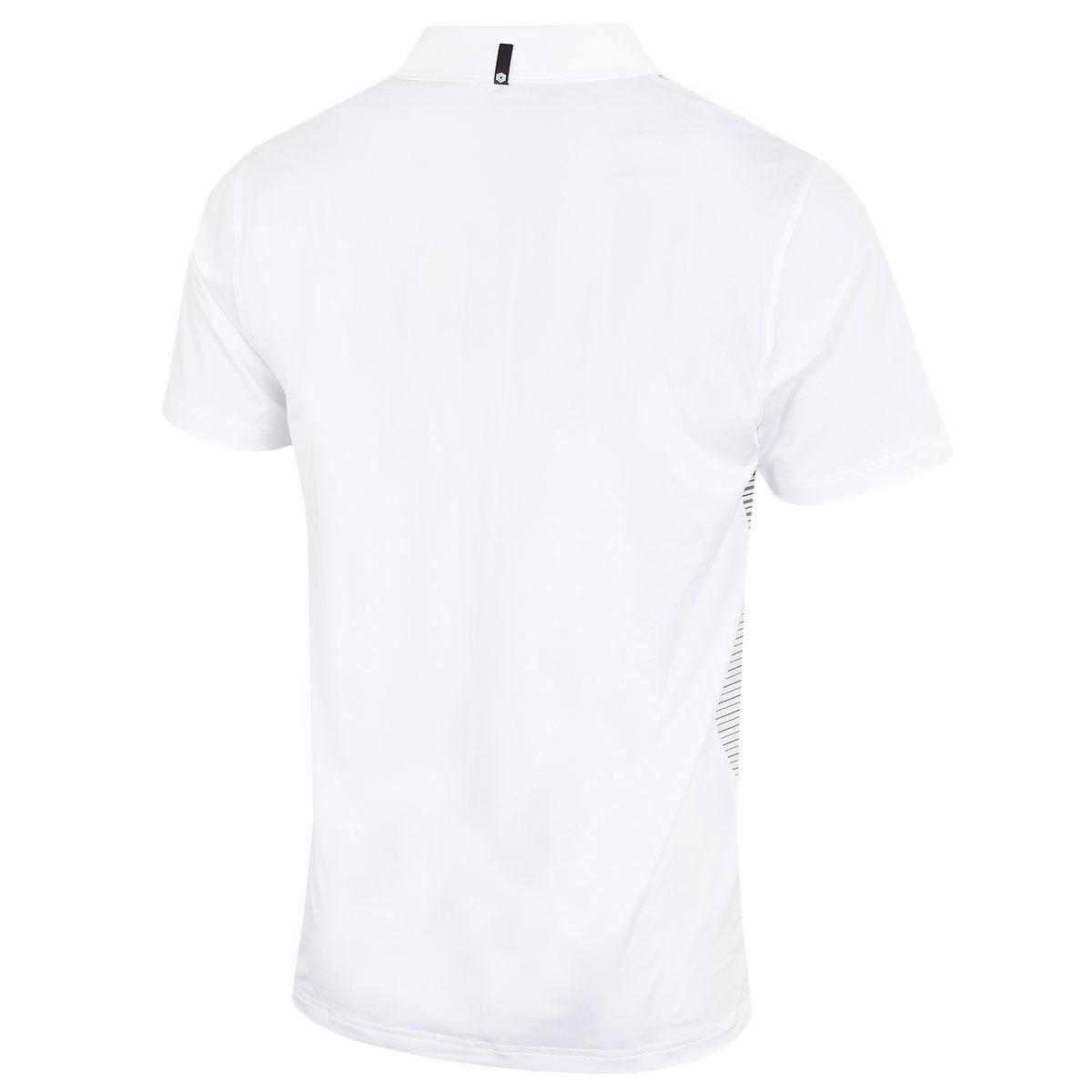 Puma-Golf-Mens-Highlight-Stripe-DryCELL-UPF-40-Stretch-Polo-Shirt thumbnail 3