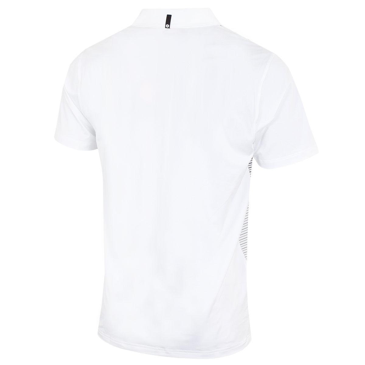 Puma-Golf-Mens-Highlight-Stripe-DryCELL-UPF-40-Stretch-Polo-Shirt thumbnail 14