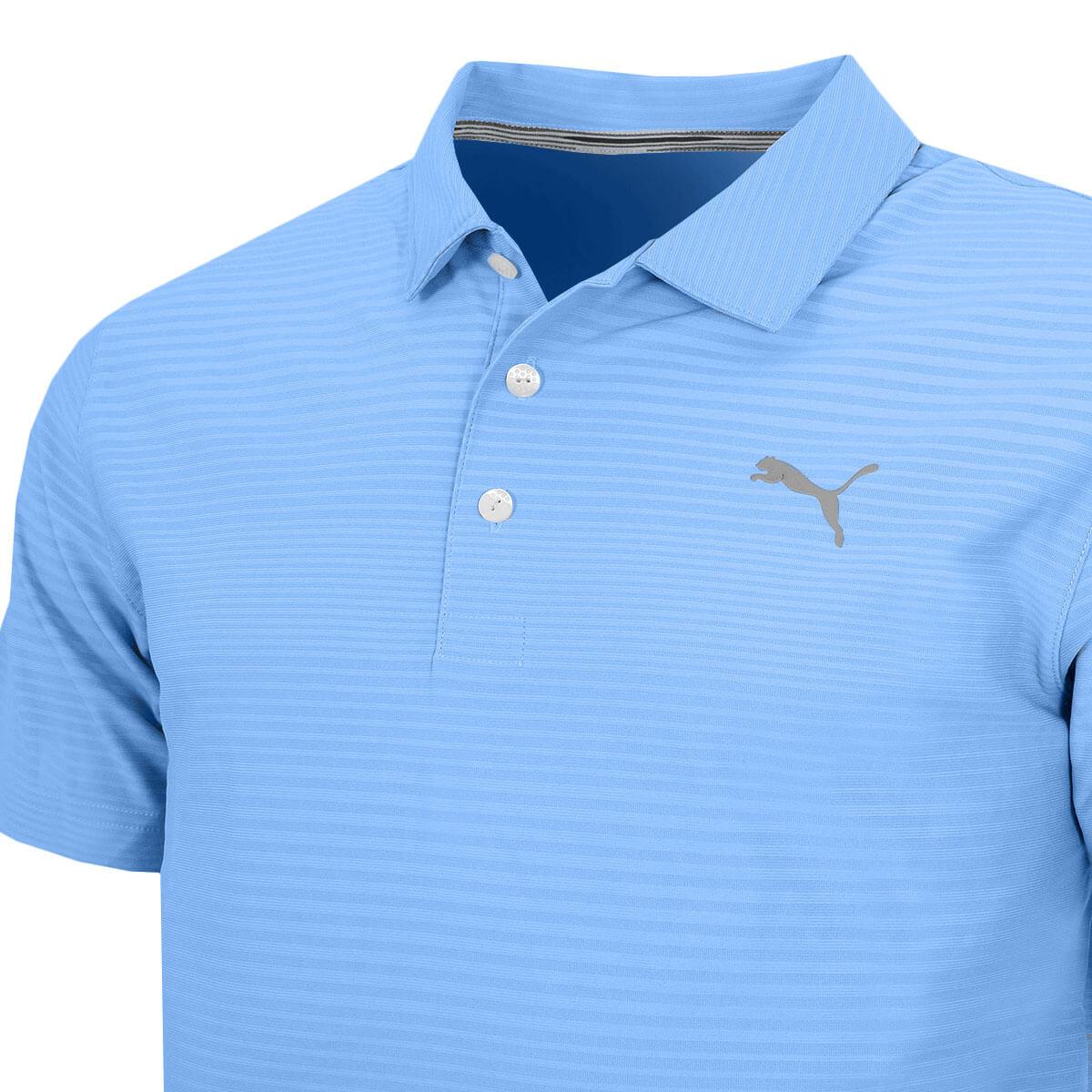 Puma-Golf-Mens-Aston-DRYCELL-UPF-50-Moisture-Wicking-Polo-Shirt-45-OFF-RRP thumbnail 7
