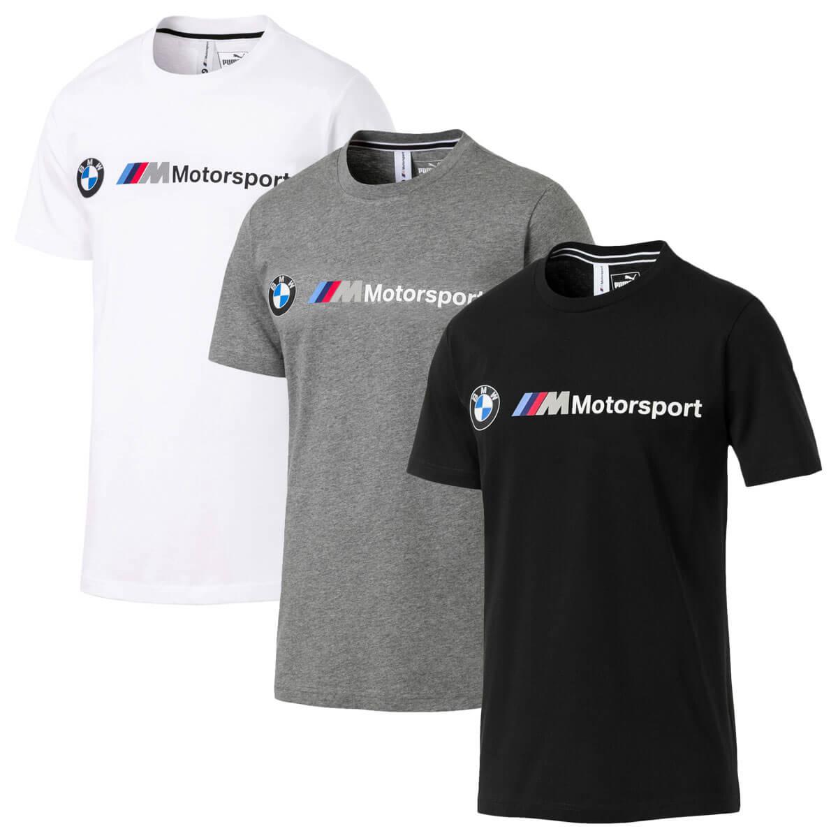 PUMA Mens BMW M Logo Tee Motorsport