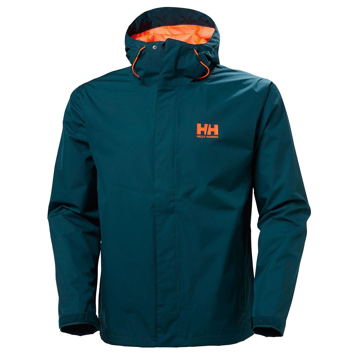 helly hansen mens seven j jacket outdoor hood full zip. Black Bedroom Furniture Sets. Home Design Ideas