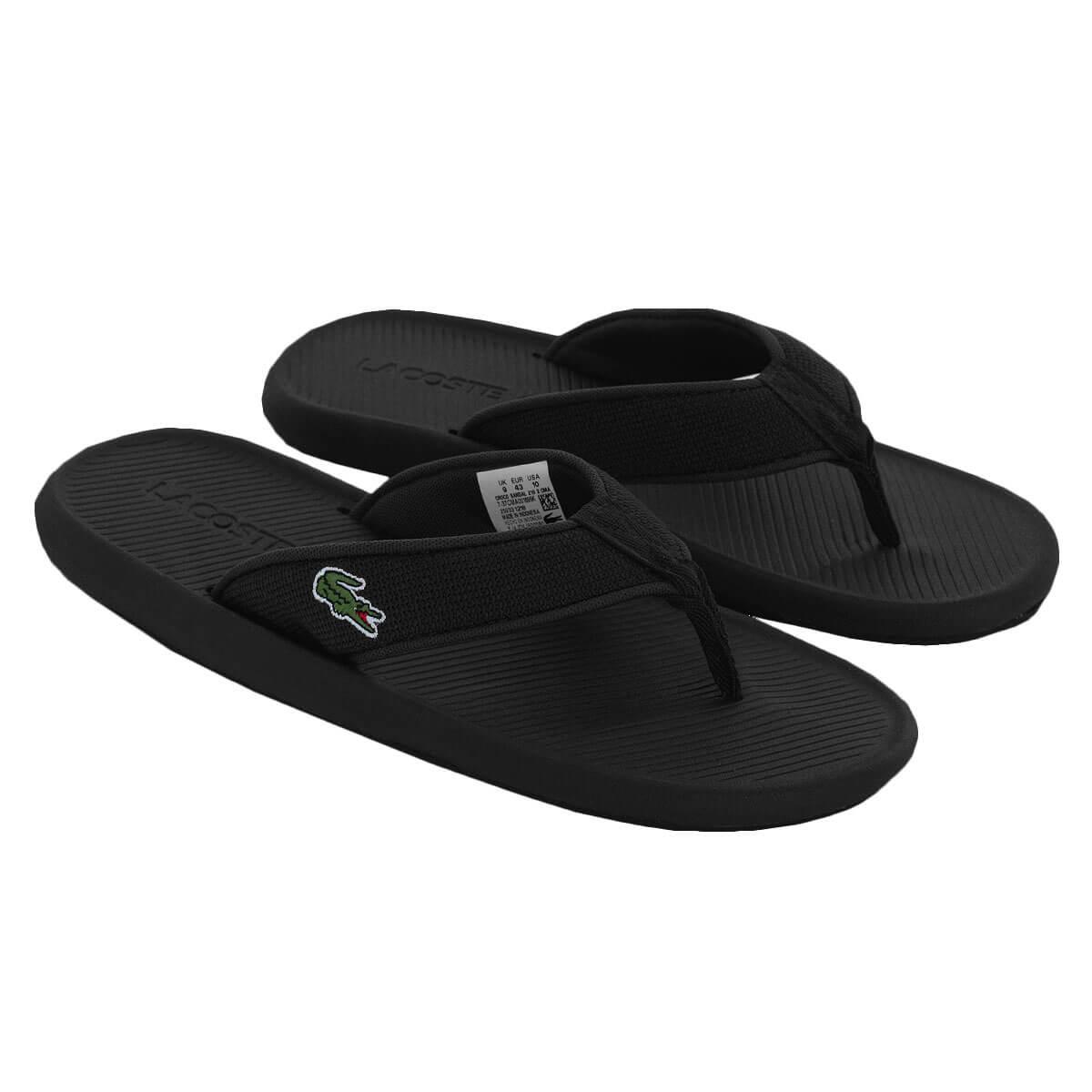 7174f1a22 Lacoste Men s Croco Sandal 219 2 CMA Flip Flops