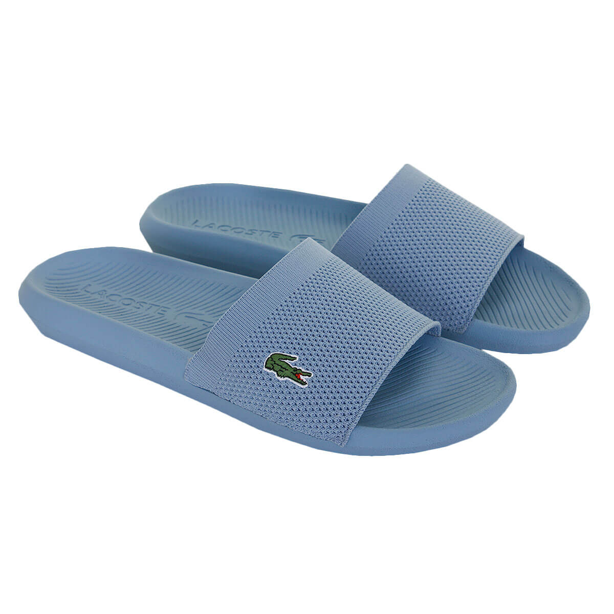 Lacoste-Mens-2019-Croco-Slide-219-2-US-CMA-Flip-Flops miniature 7