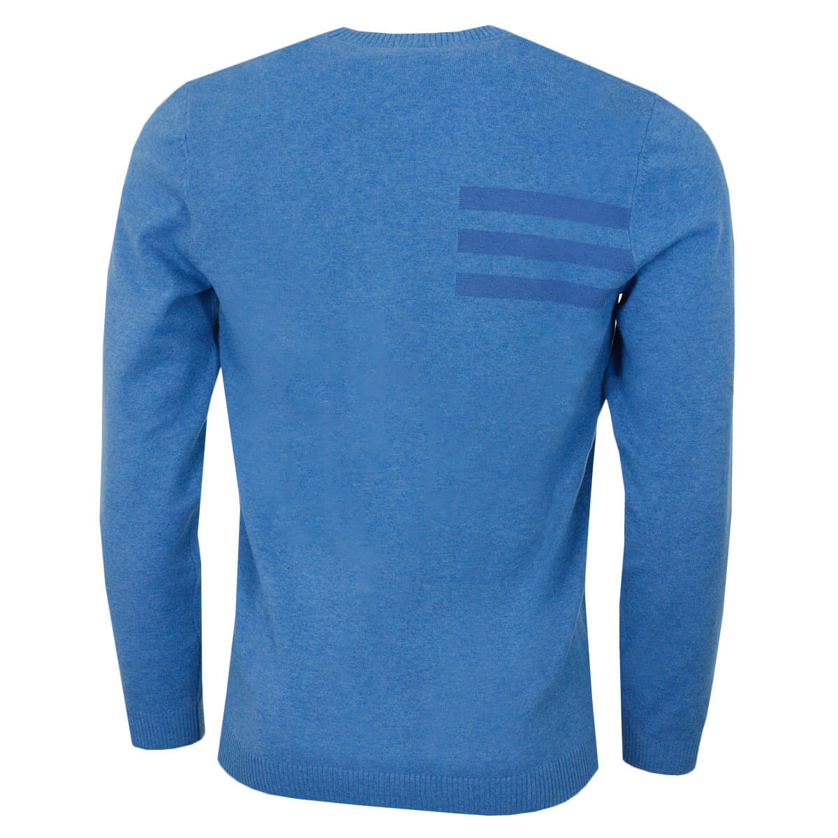 adidas-Golf-Mens-Blend-Cotton-Crew-Neck-Jumper-Pullover-Sweater-44-OFF-RRP thumbnail 9
