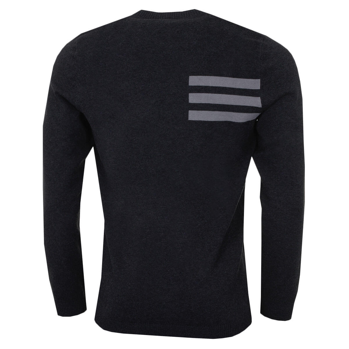 adidas-Golf-Mens-Blend-Cotton-Crew-Neck-Jumper-Pullover-Sweater-44-OFF-RRP thumbnail 3
