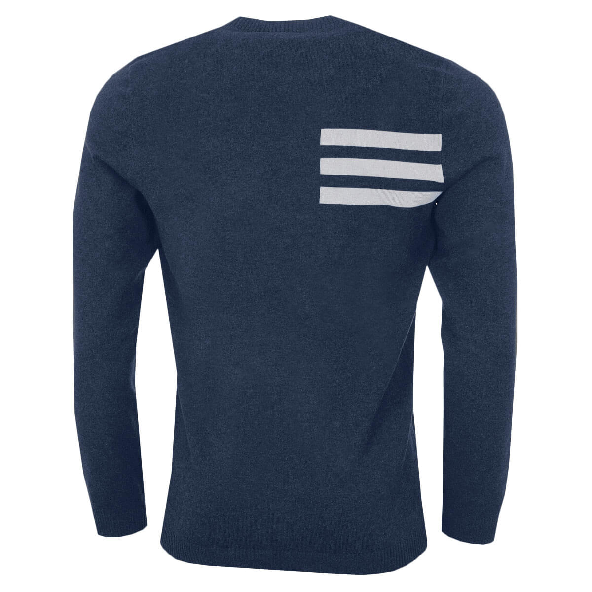 adidas-Golf-Mens-Blend-Cotton-Crew-Neck-Jumper-Pullover-Sweater-44-OFF-RRP thumbnail 5
