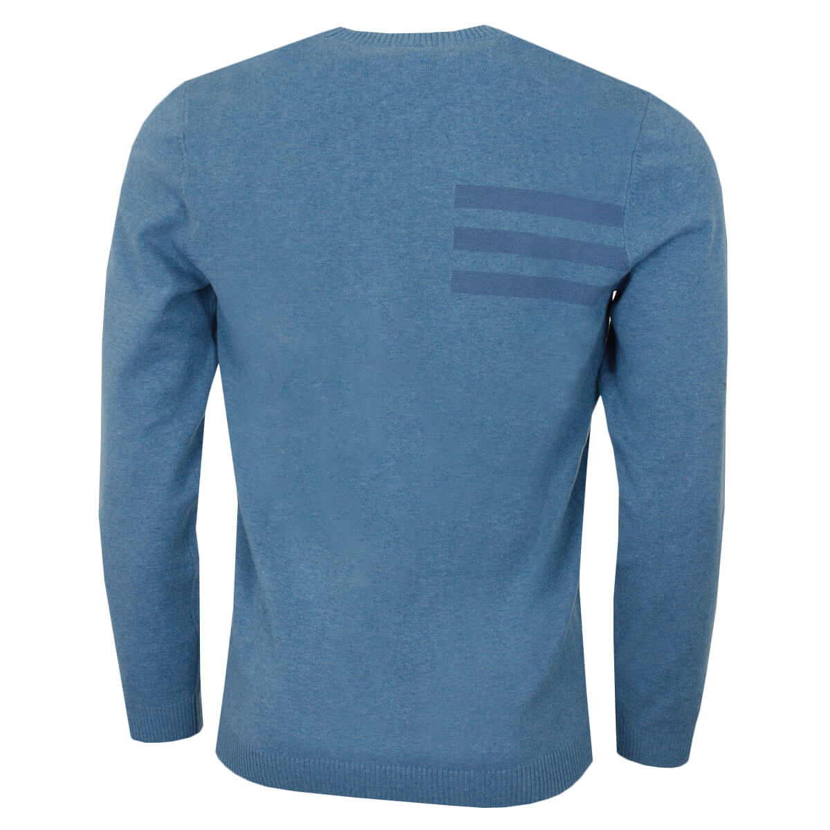 adidas-Golf-Mens-Blend-Cotton-Crew-Neck-Jumper-Pullover-Sweater-44-OFF-RRP thumbnail 11