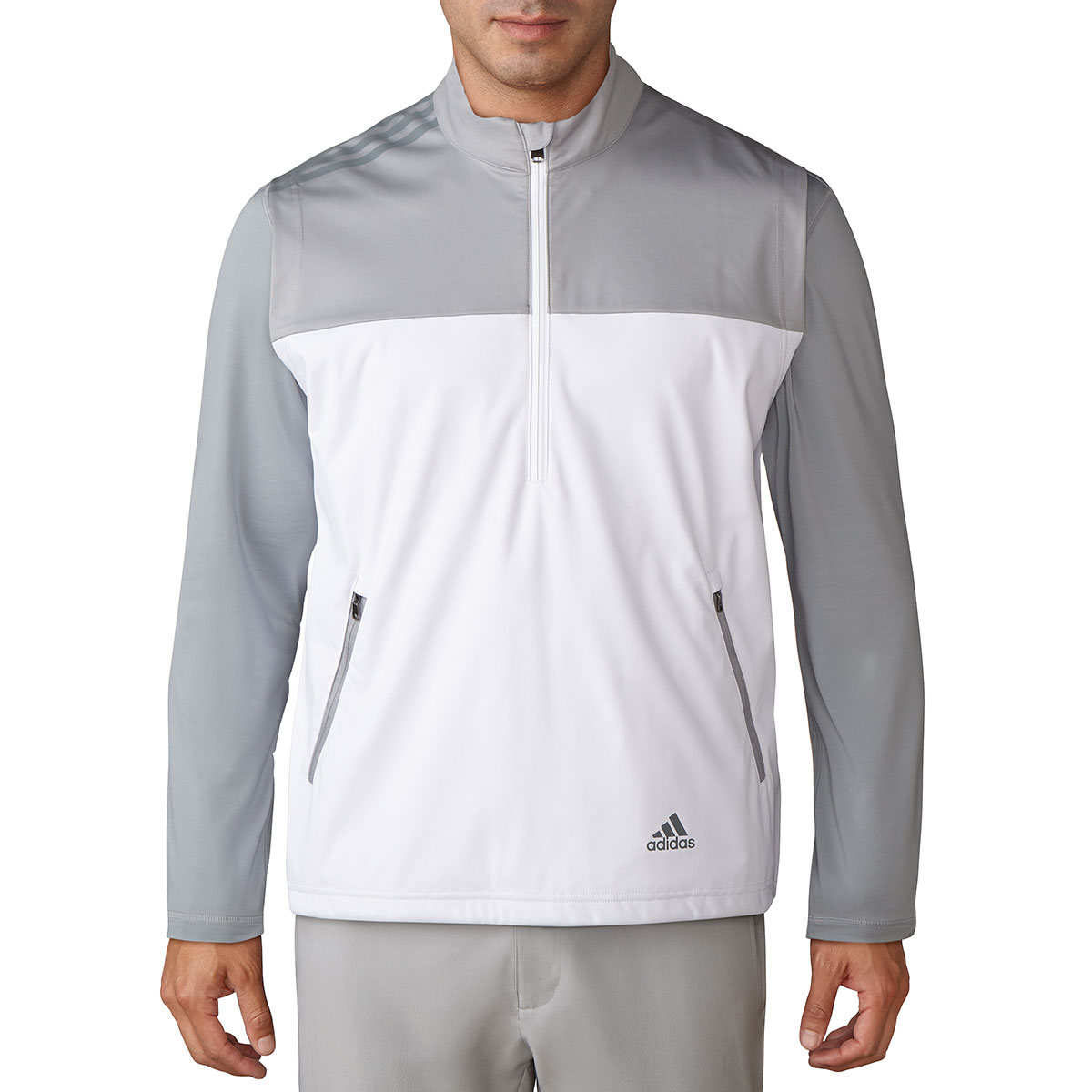 Adidas Golf 2017 Mens Half Zip Competition Wind Pullover Sweater ...