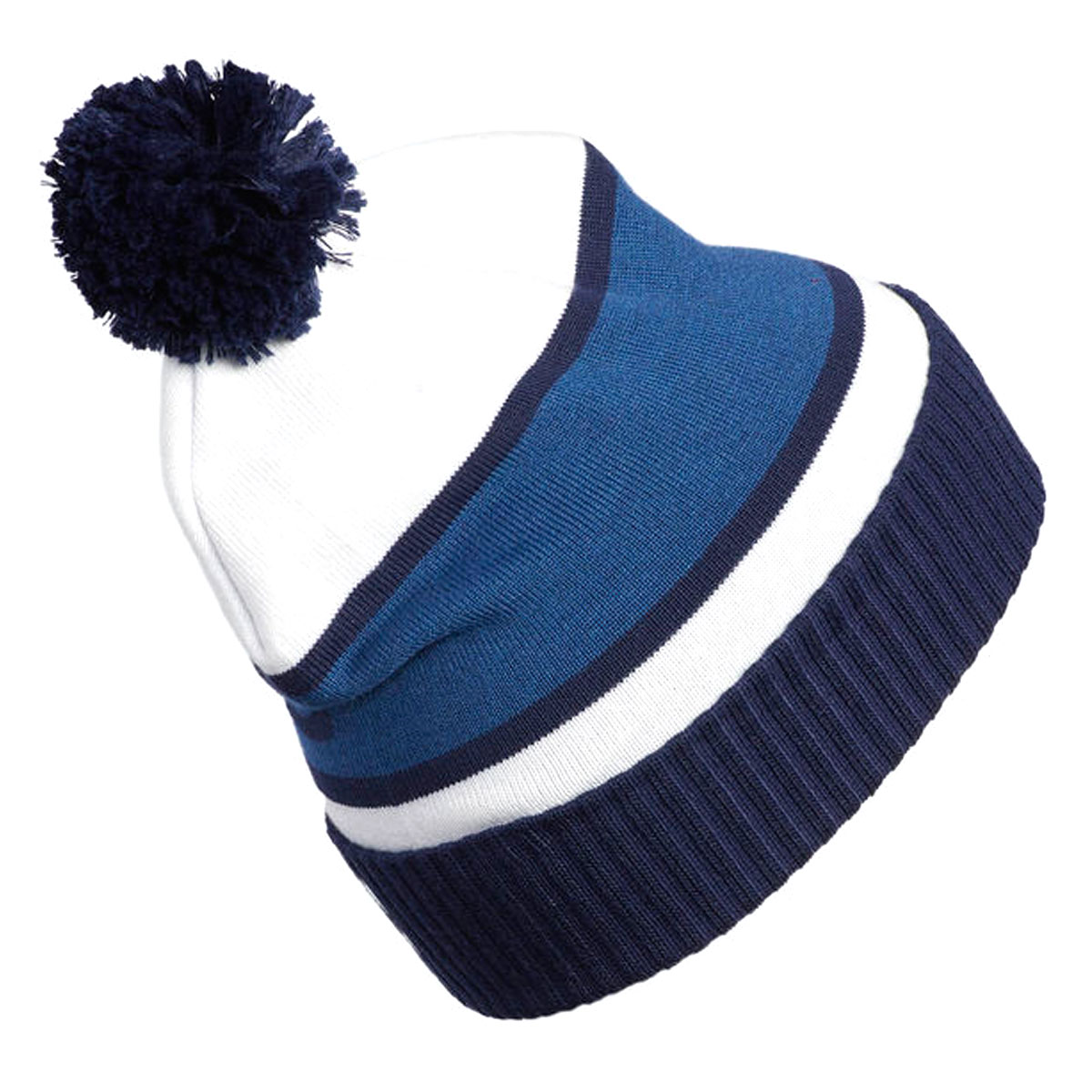 995bd0c49a528 adidas Golf Mens Pom Winter Knitted Cuffed Beanie Bobble Hat | eBay