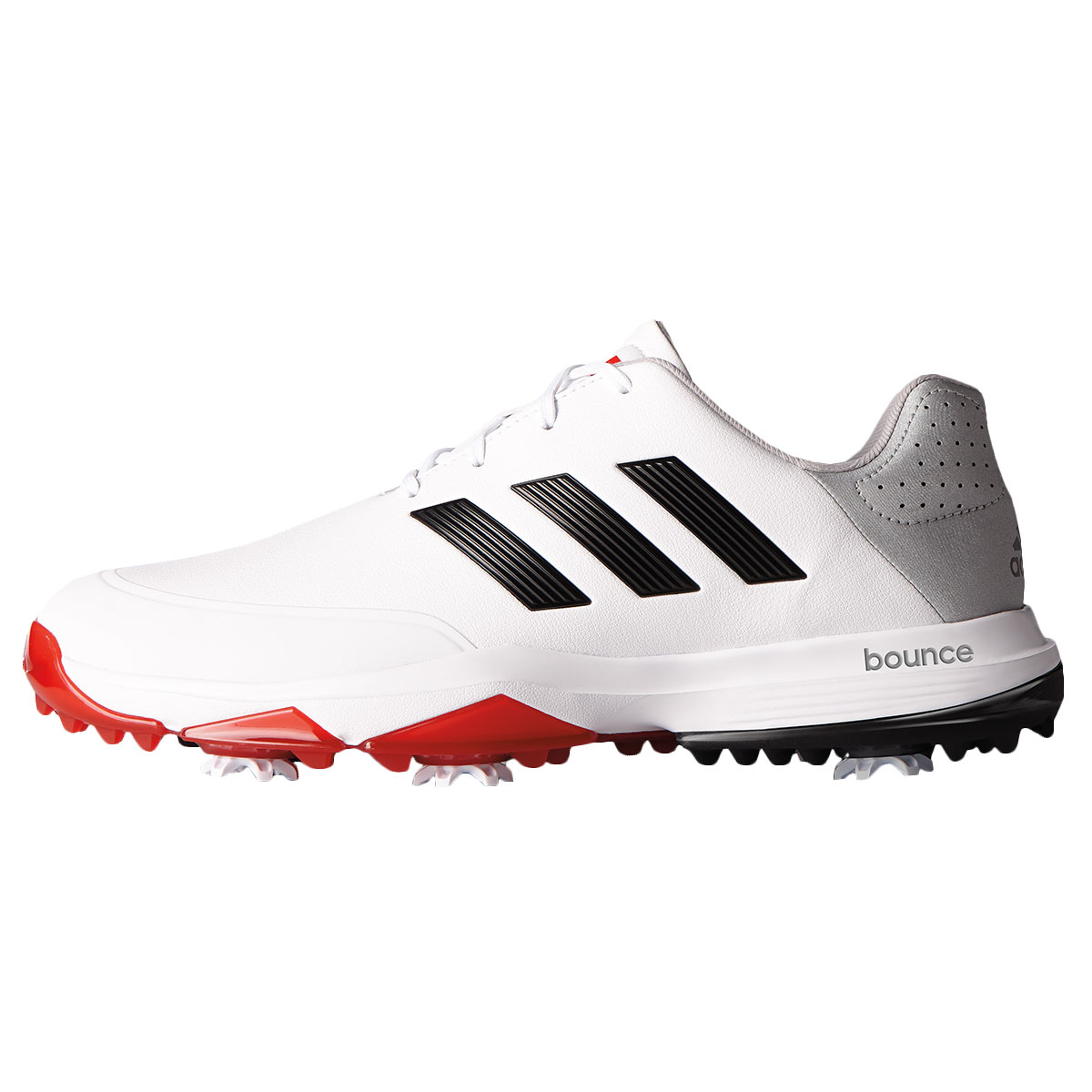 adidas Mens 2018 Adipower Bounce WD Golf Schuhes Lightweight Durable Foam Wide Fit