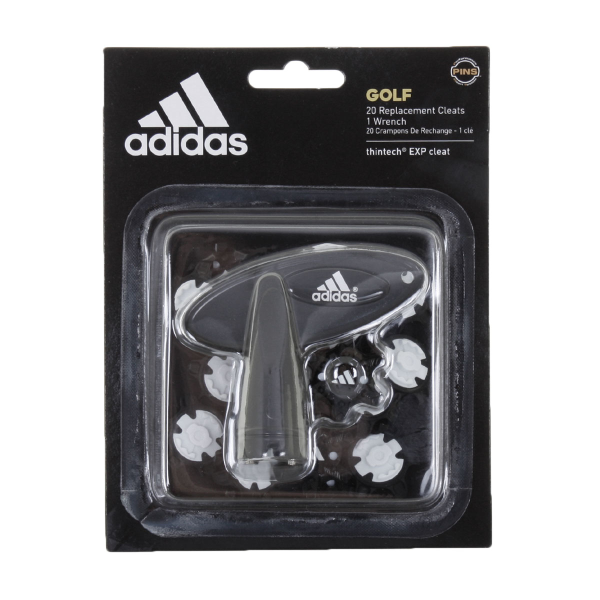 91b2734f06c 2017 Adidas Golf Thintech Exp Cleat 20 Pins Pack Golf Shoe Spikes ...