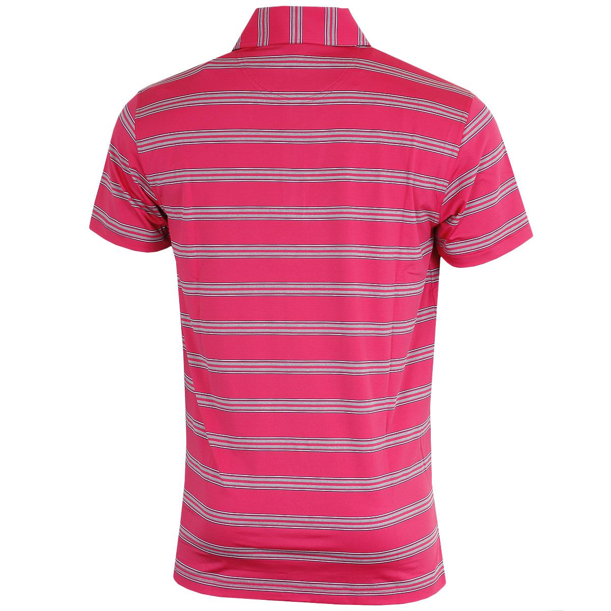 Bobby-Jones-Mens-XH20-Wren-Heather-Stripe-Stretch-Golf-Polo-Shirt-72-OFF-RRP thumbnail 5