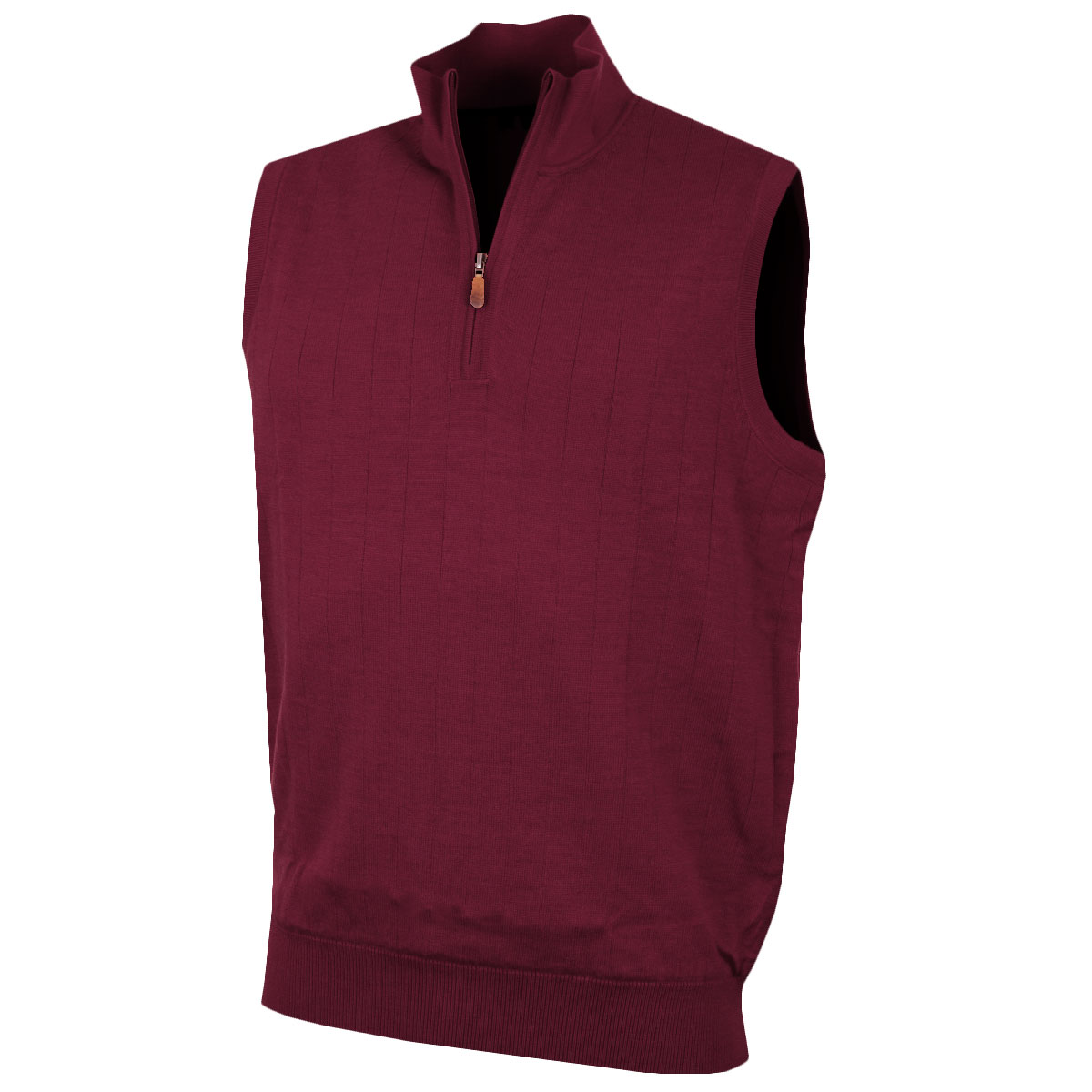 Bobby Jones 2016 Mens Merino 1/4 Zip Lined Vest Sweater Pullover ...