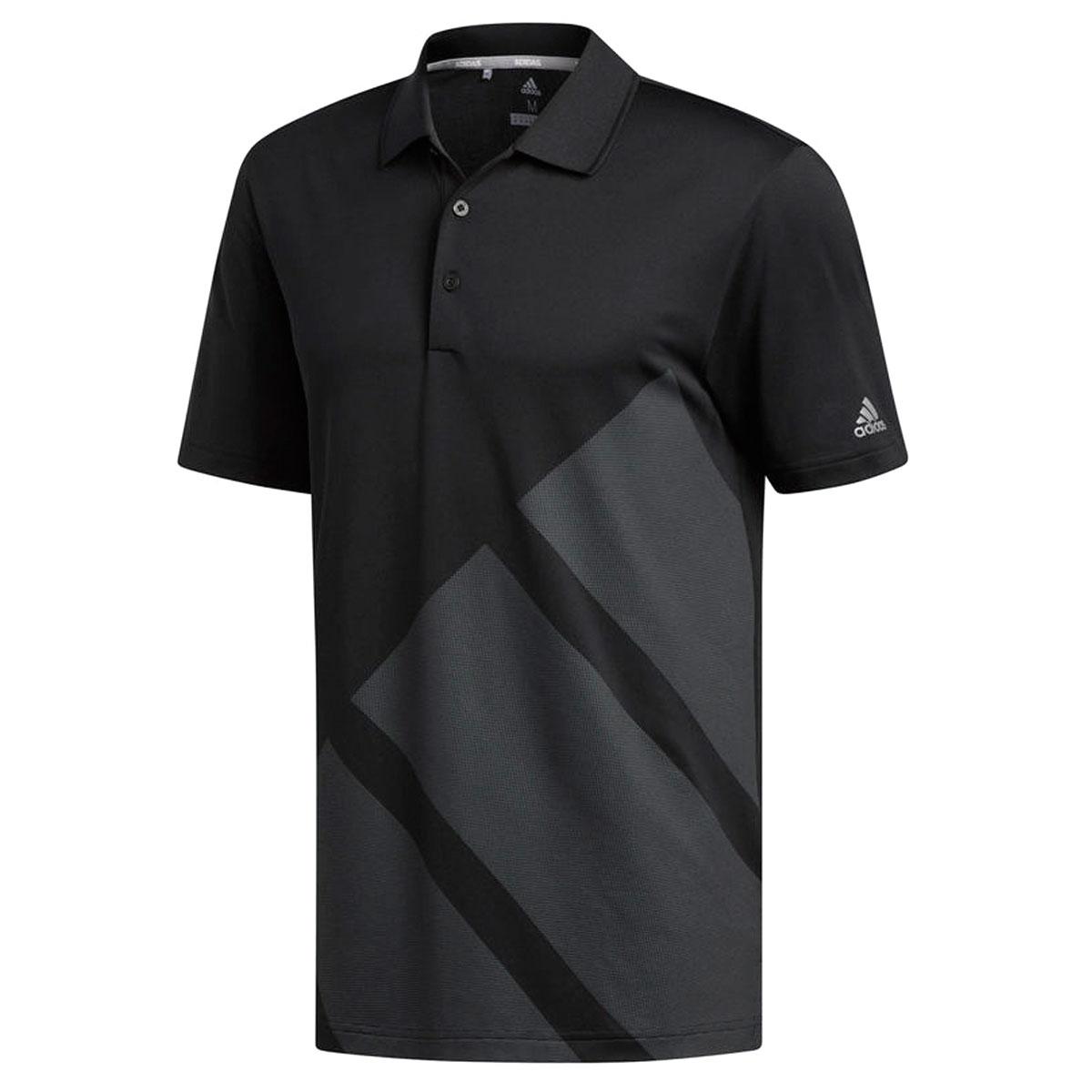 adidas-Golf-Mens-Bold-3Stripes-UPF-50-Lightweight-Polo-Shirt-43-OFF-RRP
