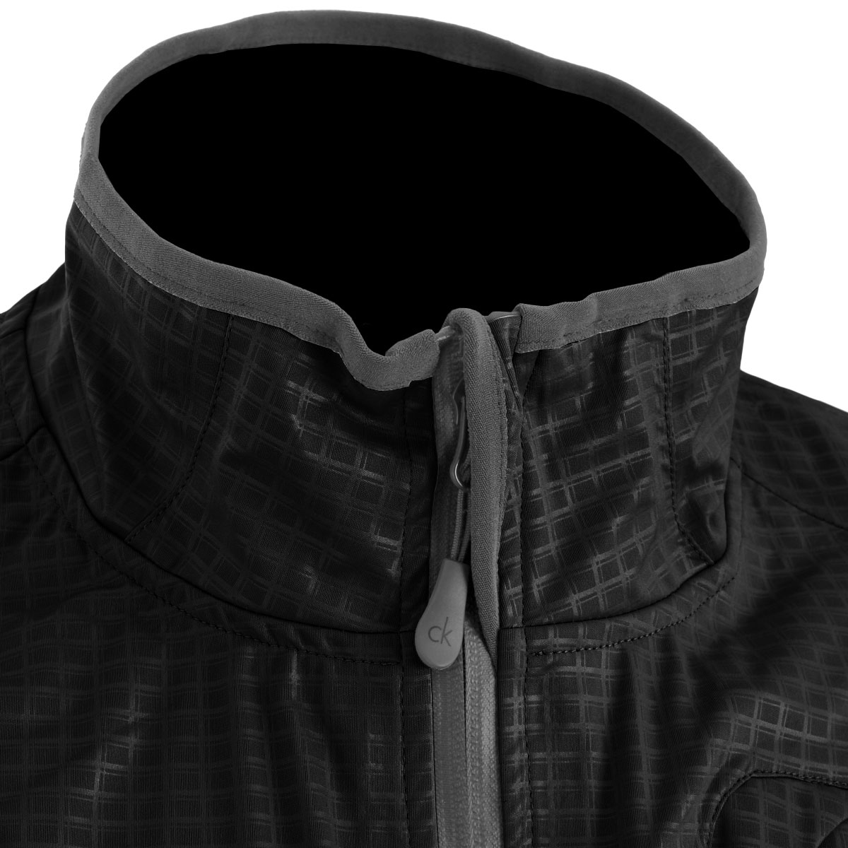 Calvin Klein Golf Mens Ck Stealth Waterproof Jacket Full Zip Rain Coat Ebay