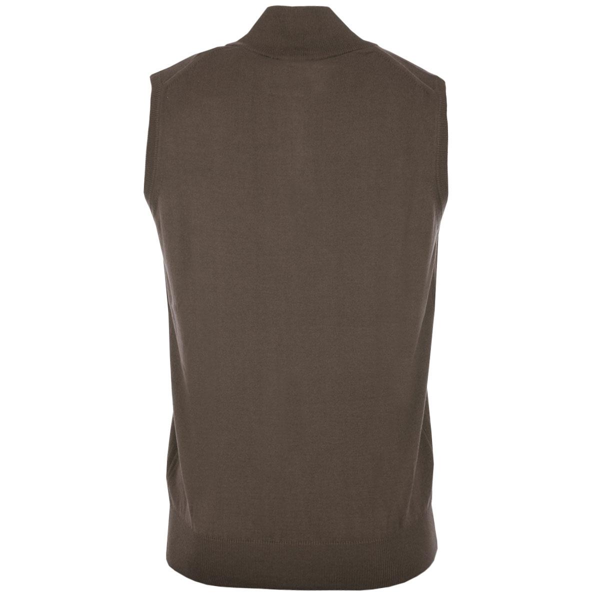 Calvin-Klein-Golf-Mens-CK-1-4-Zip-Sleeveless-Sweater-Vest-Gilet-27-OFF-RRP thumbnail 13
