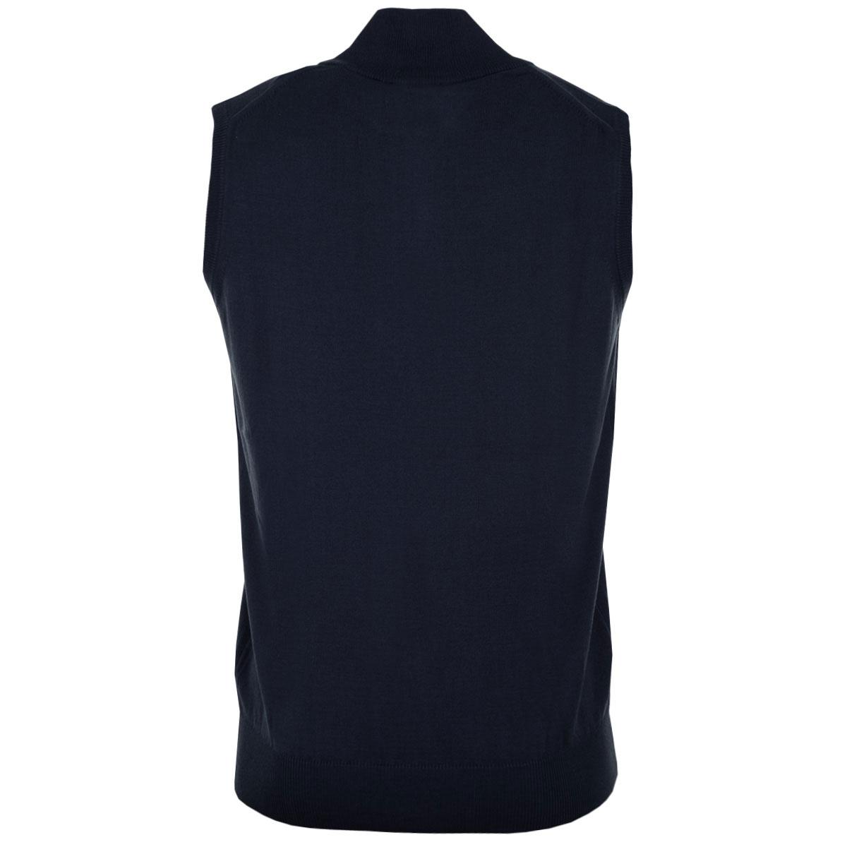 Calvin-Klein-Golf-Mens-CK-1-4-Zip-Sleeveless-Sweater-Vest-Gilet-27-OFF-RRP thumbnail 17