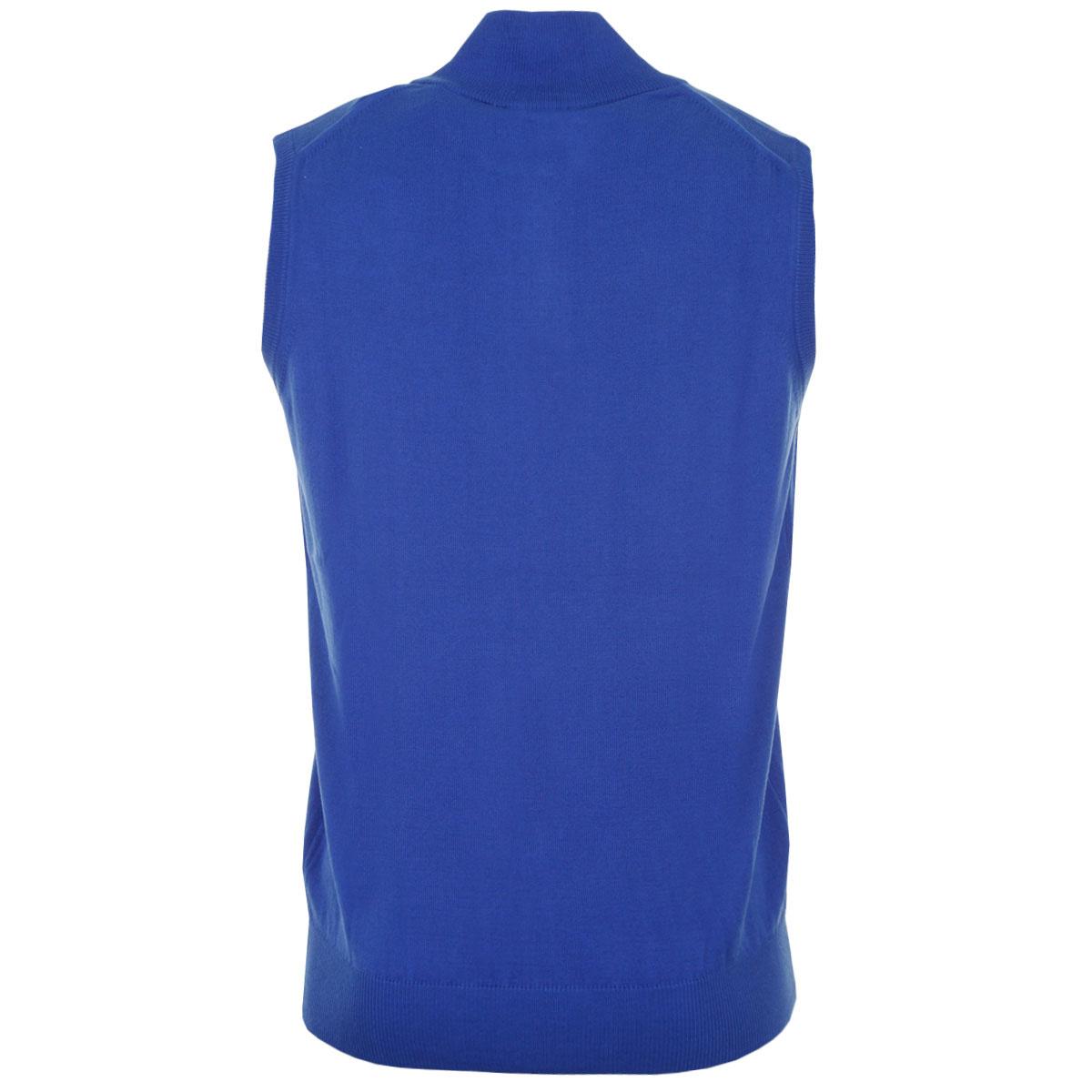 Calvin-Klein-Golf-Mens-CK-1-4-Zip-Sleeveless-Sweater-Vest-Gilet-27-OFF-RRP thumbnail 25