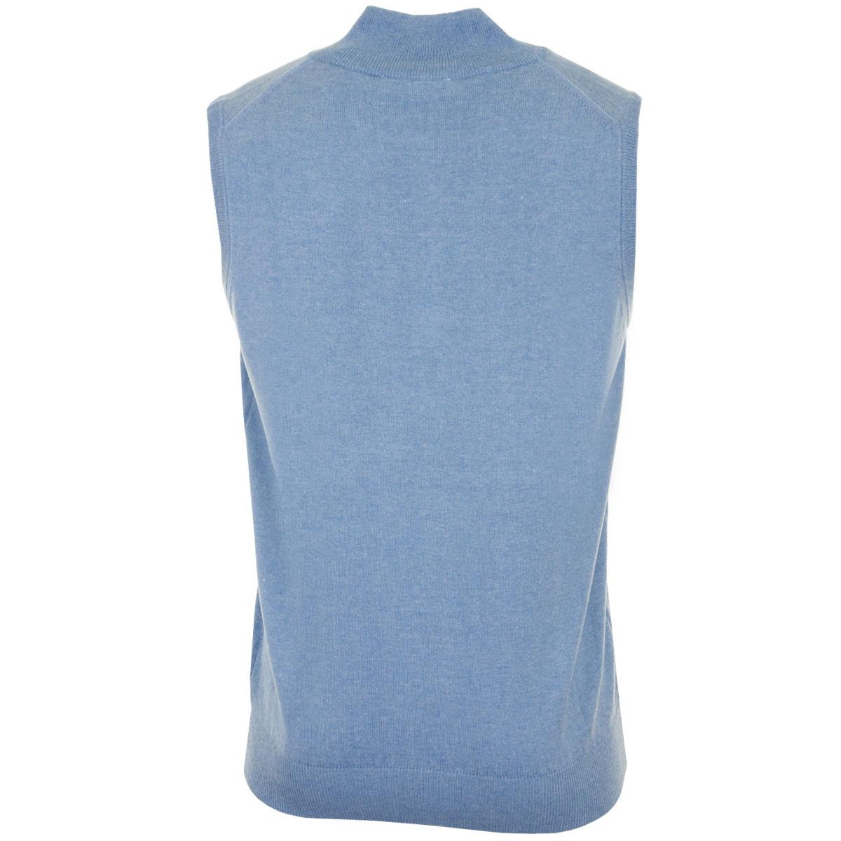 Calvin-Klein-Golf-Mens-CK-1-4-Zip-Sleeveless-Sweater-Vest-Gilet-27-OFF-RRP thumbnail 33