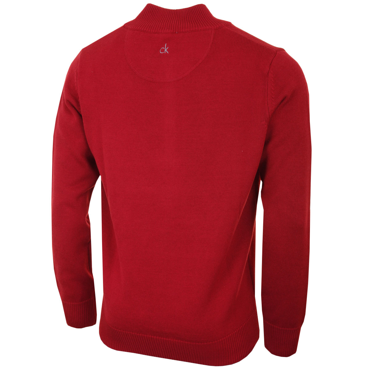 Calvin-Klein-Mens-Chunky-Knit-Cotton-1-2-Zip-CK-Golf-Sweater-25-OFF-RRP thumbnail 10