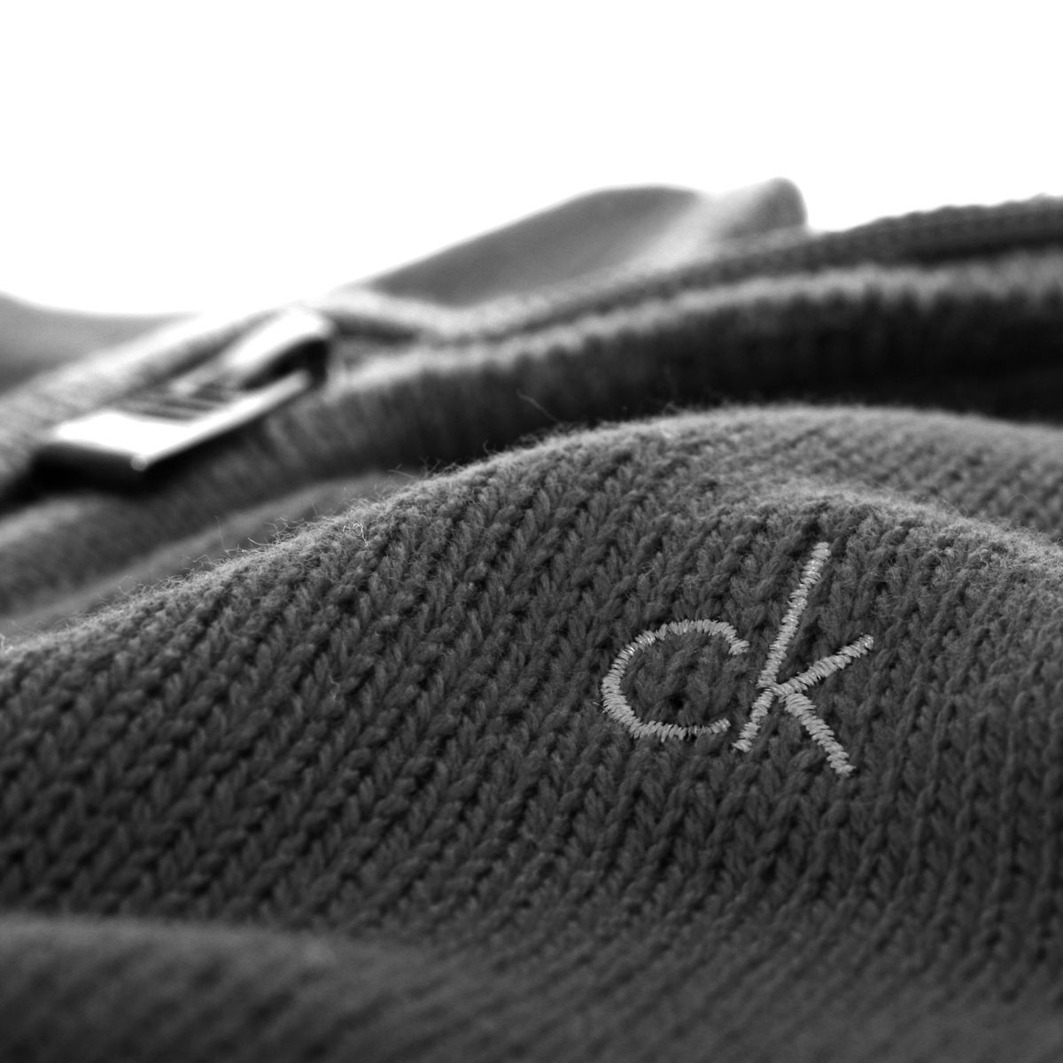 Calvin-Klein-Mens-Chunky-Knit-Cotton-1-2-Zip-CK-Golf-Sweater-25-OFF-RRP thumbnail 16