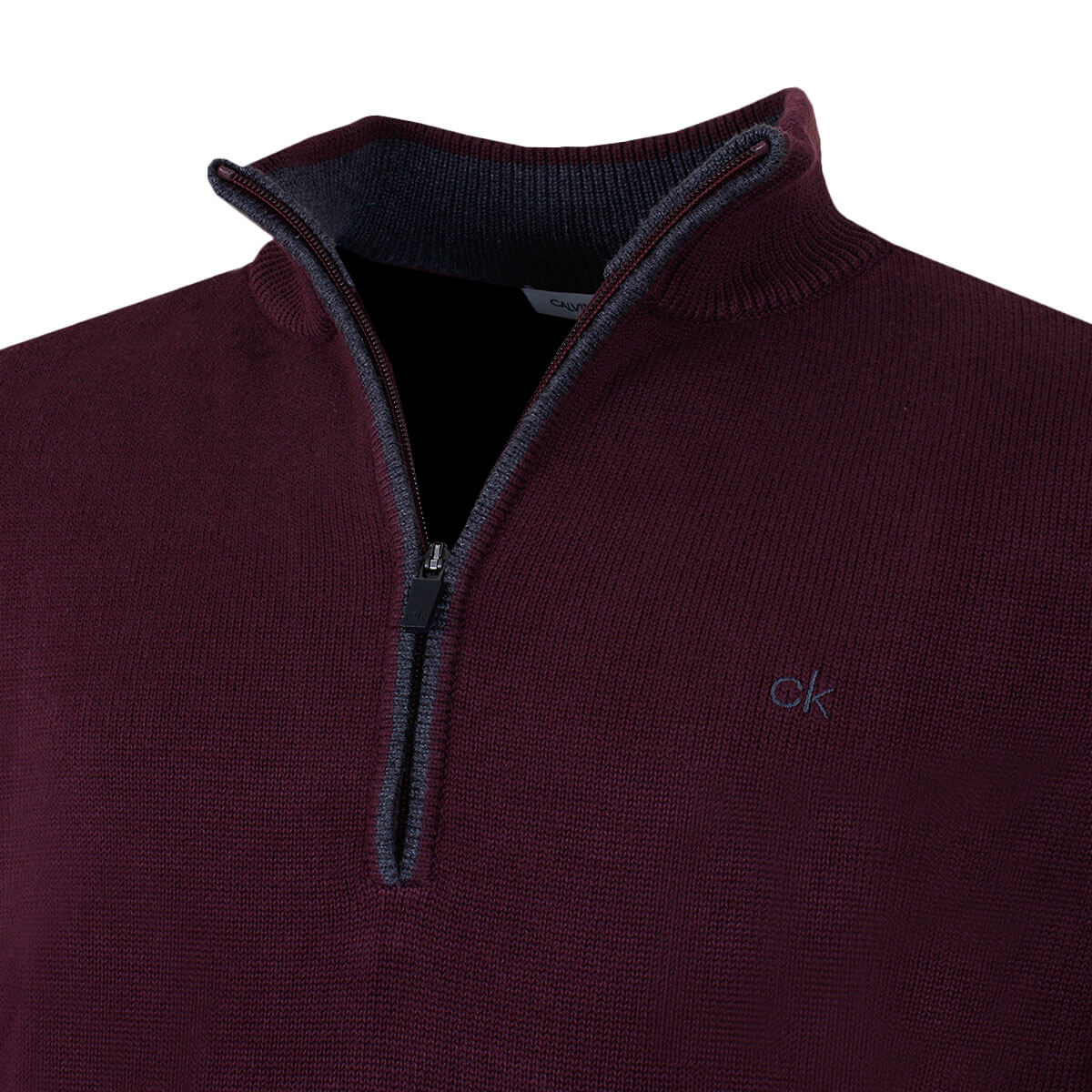 Calvin-Klein-Golf-Mens-2019-Chunky-Cotton-1-2-Zip-Golf-Top-Sweater-28-OFF-RRP thumbnail 29