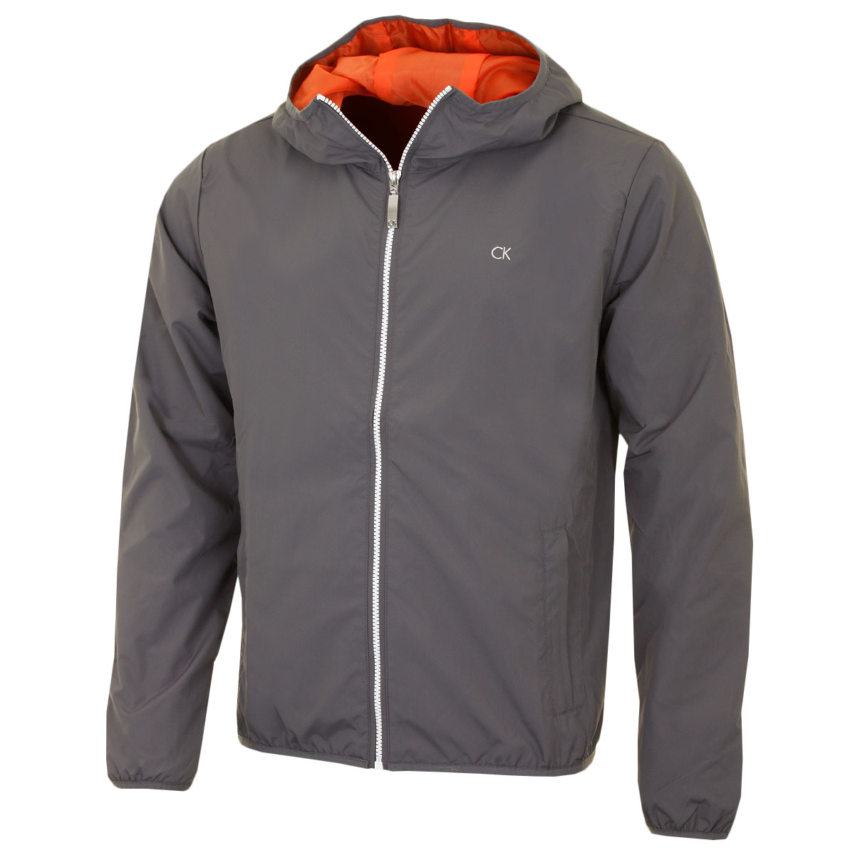 Calvin Klein Golf Mens CK Hooded 365 Lightweight Windbreaker ...