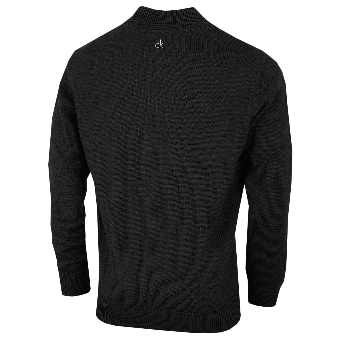 Calvin-Klein-Golf-Mens-2019-Chunky-Cotton-1-2-Zip-Golf-Top-Sweater-37-OFF-RRP thumbnail 7